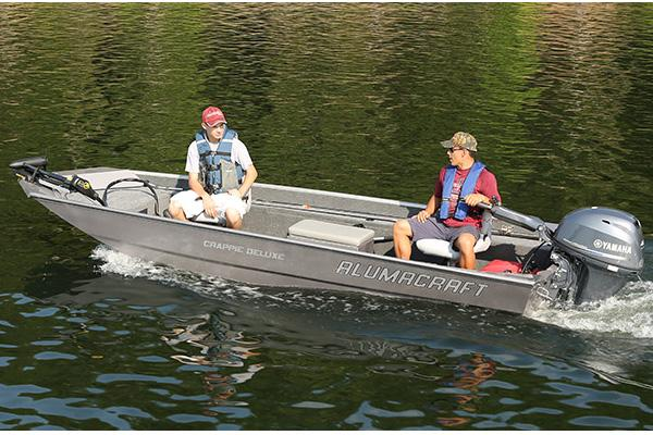 Alumacraft Crappie Deluxe Boats For Sale Boats Com
