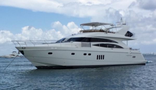 Princess-Viking Sport Cruiser 70 Motor Yacht Port Side