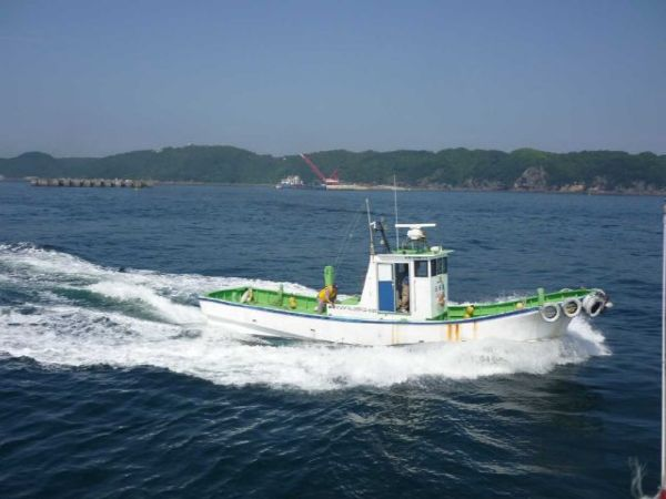 1986 9.55m Work Boat /Located in Simoda, Japan