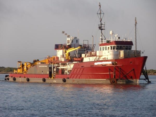 Custom Steel Utility Vessel