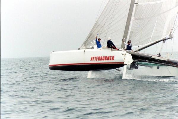 Tennant Catamaran Sailing