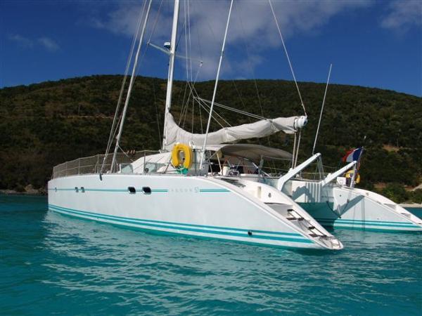Lagoon 57 Charter version Lagoon 57