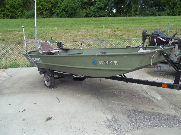 Alumacraft 1448 Jon boat