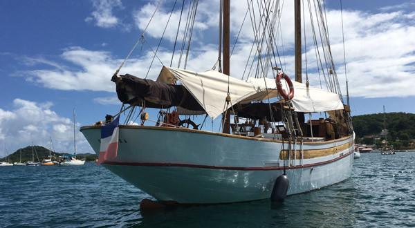 Classic classic yacht