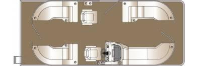 Cypress Cay SEABREEZE 233 CWDH TRI-TOON