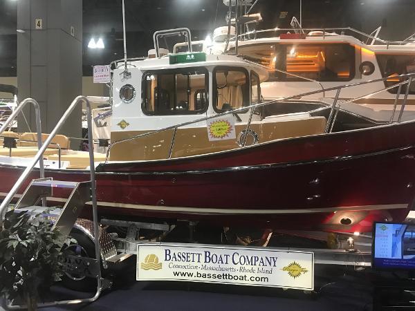 Ranger Tugs 21 EC 2017 Ranger Tugs 21 EC Hartford Boat Show featured boat.