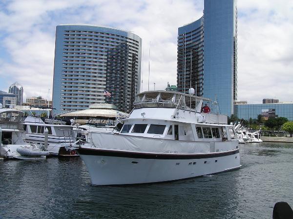 Hartman - Palmer  Flush Deck Motor Yacht