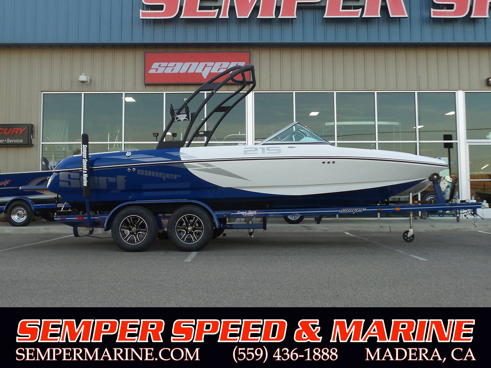 Sanger Boats V215 S