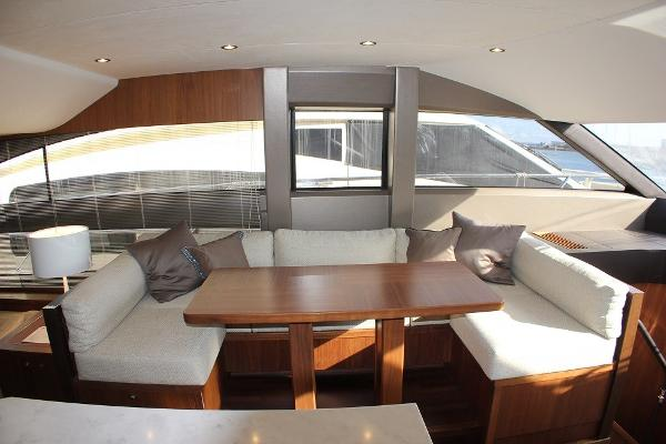 Princess 64 Saloon Dining Area