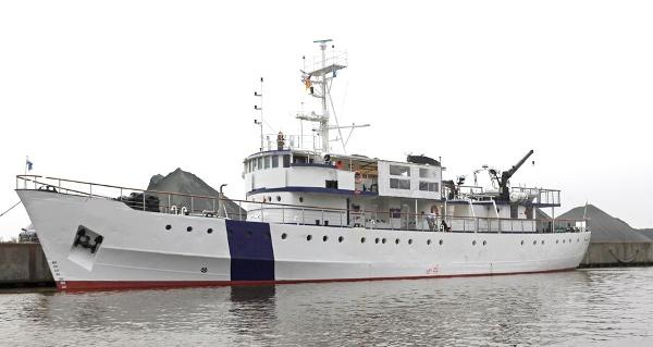 Standby Guard Expedition Vessel Rebuild 2012 45m Expedition Guard Vessel For Sale