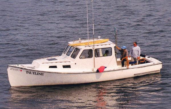 Repco/General Marine Lobster Boat Good Looking Downeast Lines