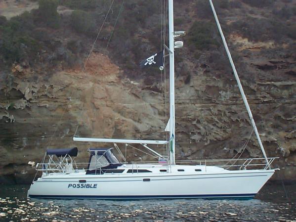 "Catalina 42 MkII ""Possible"" @ Anchor"