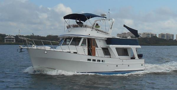 Sea Ranger Trawler Pilothouse