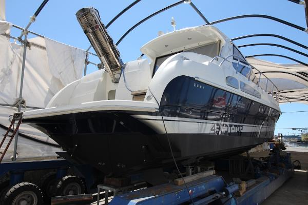 Airon Marine 4300 hard top