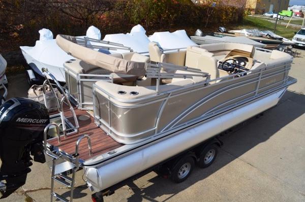 Harris Flotebote Sunliner 240 Tri Toon