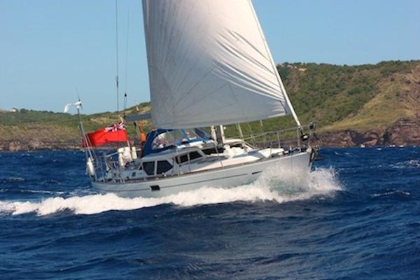 Oyster 47 At sea