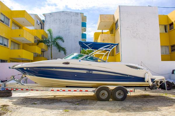 Sea Ray sundeck 290