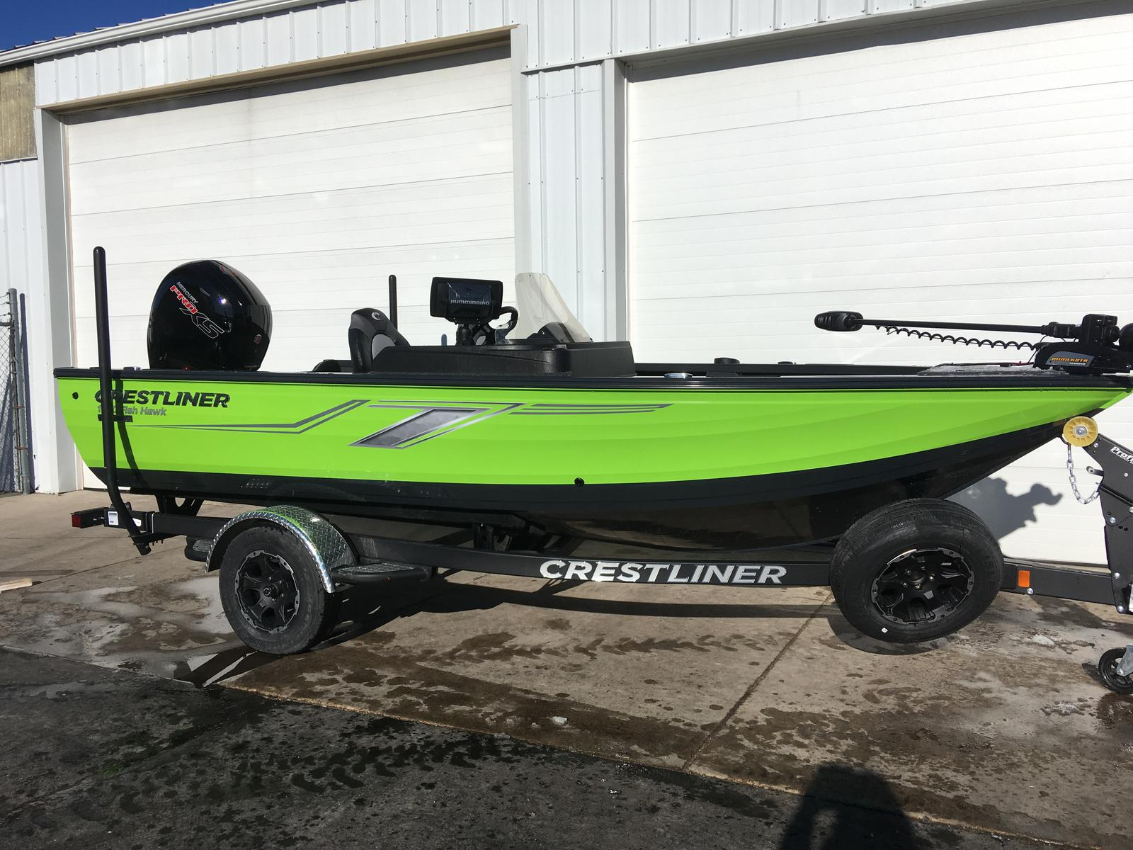 Crestliner 1750 FISH HAWK SC  JUMPSEAT