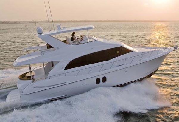 Hatteras 60 Motor Yacht Manufacturer Provided Image