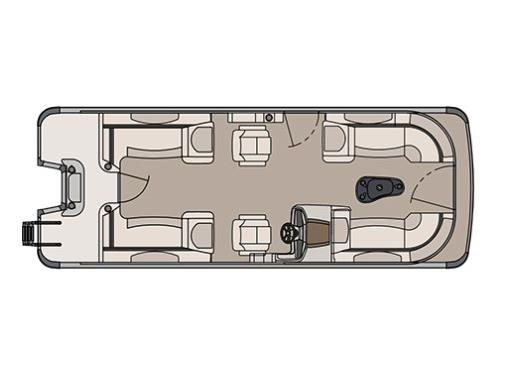 Avalon Catalina Quad Lounge - 23 ft.