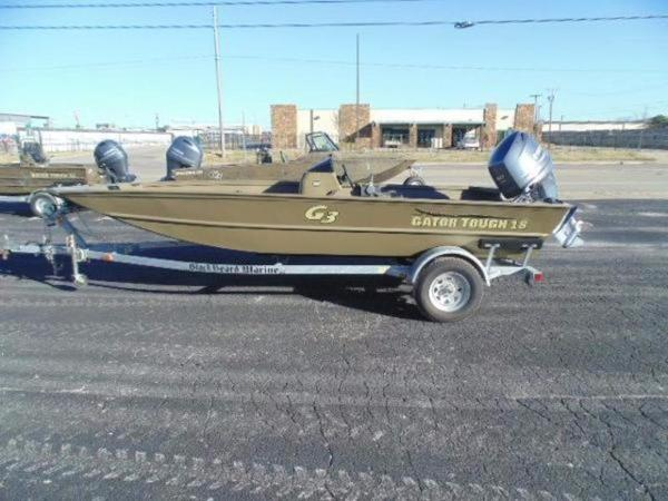 G3 Boats 18 SC Brown