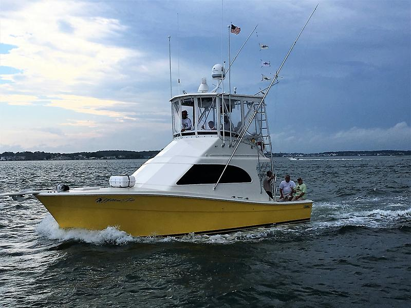 "Topaz 37 Convertible Sportfisherman ""Yellowfin"""