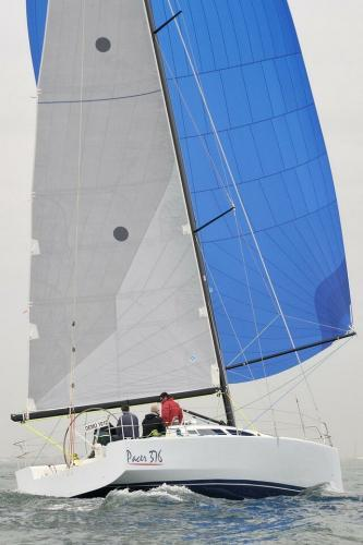 Pacer Yachts 376 EP Sailing
