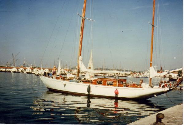 Chantier de la Liane Classic Marseille Yawl