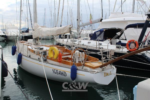 Custom Cutter Crisman & Giraldi Sciarrelli Sciarelli cutter 1981