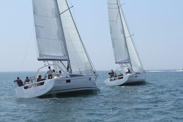 Beneteau Oceanis 48 Sistership Sailing
