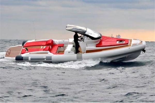 Pirelli PZERO 1100 CABIN Starboard Profile