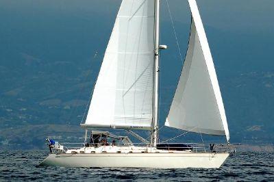 Tayana 48 Tayana Center Cockpit 48 under sail