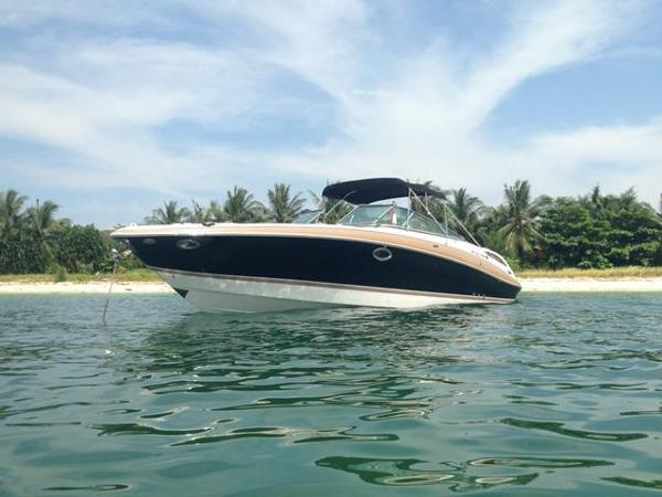 Four Winns H310 Sleek portside view