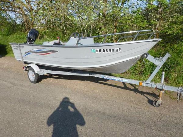 Used utility boat smoker craft boats for sale for Smoker craft alaskan 15