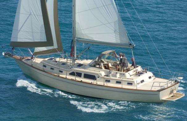 Island Packet 495 Island Packet 465 sailing