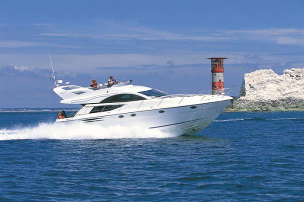 Fairline Phantom 50 Manufacturer Provided Image: Running