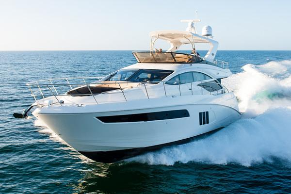 Sea Ray L590 Fly Sea Ray L590 Fly, Luxury Yachts, Sea Ray Yachts, Flybridge Yacht