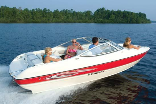 Stingray 185 LS shown.