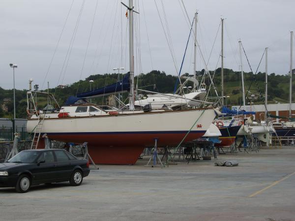 Ashore before repaint