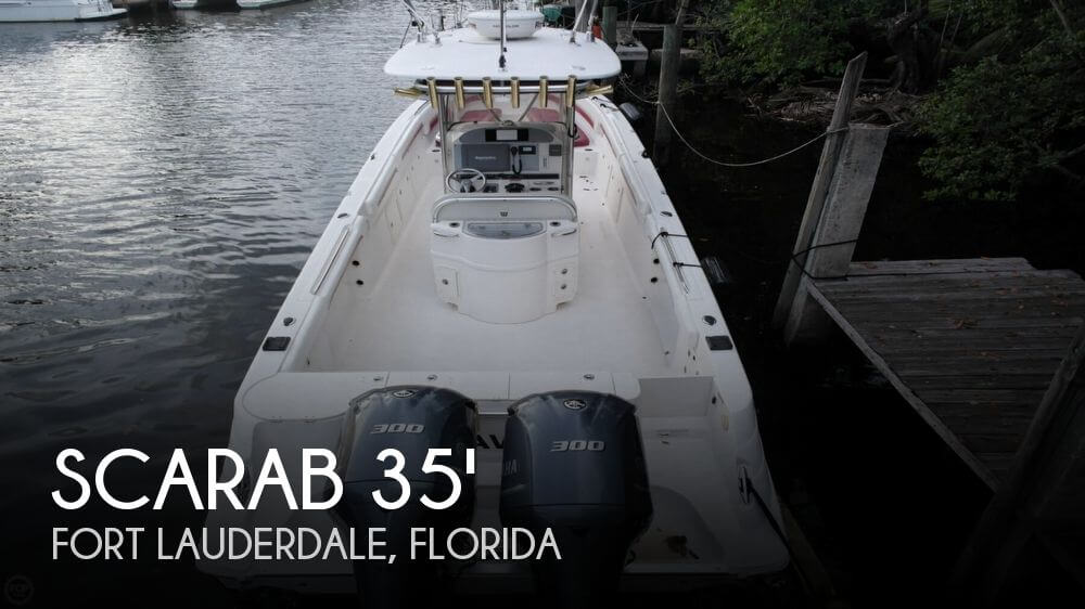Scarab 35 Offshore Center Console 2008 Scarab 35 Offshore Center Console for sale in Fort Lauderdale, FL