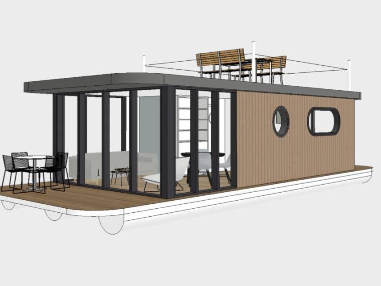 Lotus Houseboats, Makkum, NL Lotus Houseboats, Makkum, NL Lotus Houseboat 12