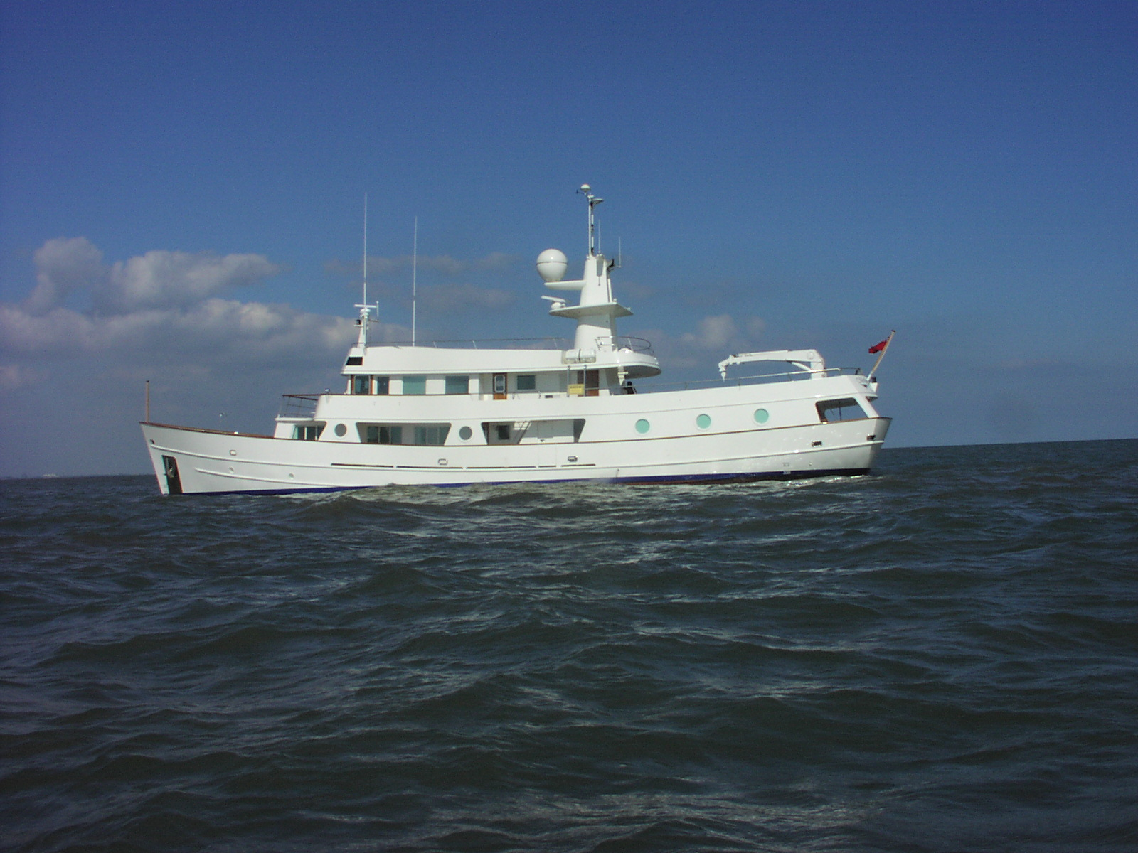 Hall Russell Expedition Yacht