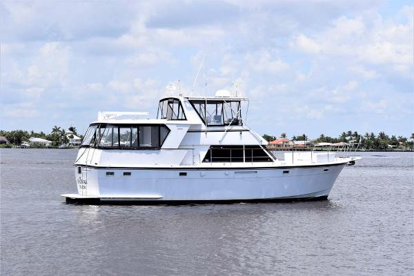 Hatteras 48 CPMY Profile