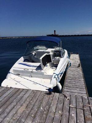 Ebbtide 224 SE Cuddy At Dock