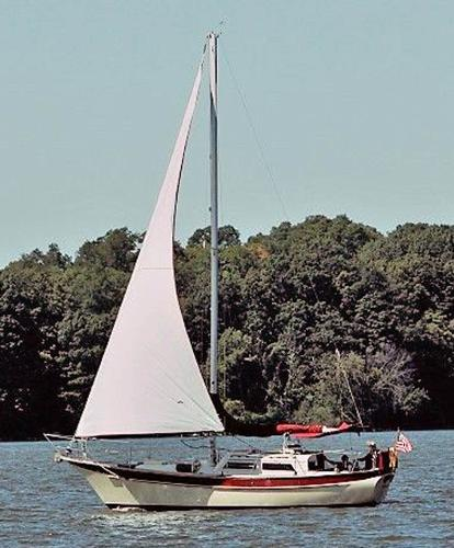 "Csy 33 Cutter - 2008 diesel ""Breatnac"" sailing"