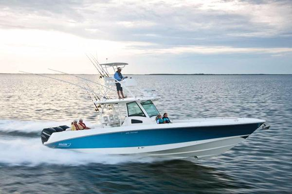 Boston Whaler 370 Outrage Actual Boat- PR Image