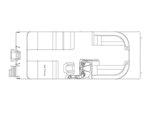 Crest Pontoon Boats Crest II 230 SLR2