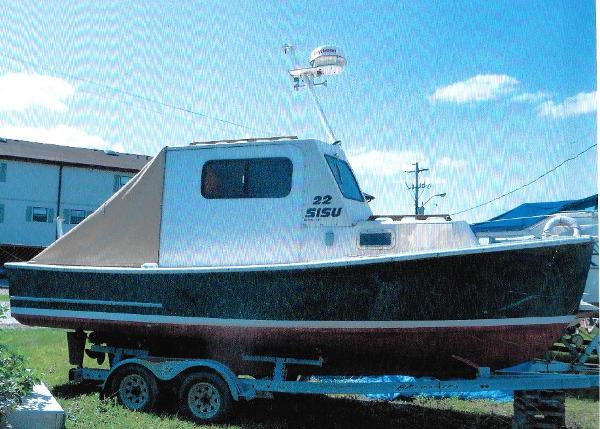 Commercial Converted Lobster Boat
