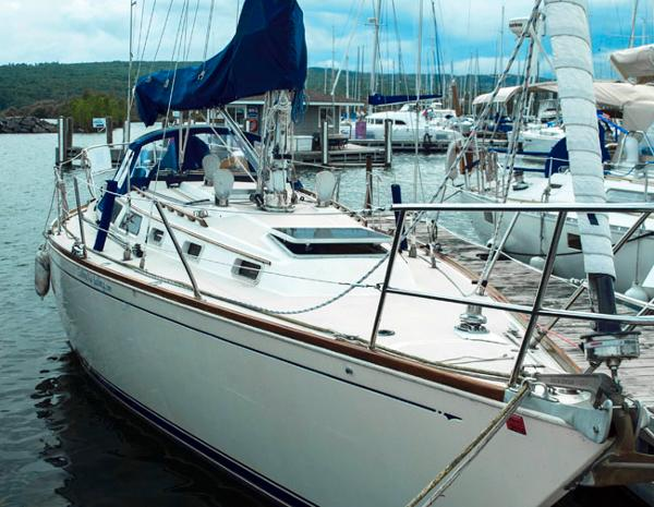 Sabre 36 At the dock