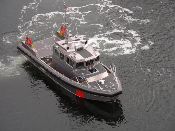 Hercules Patrol Boat -  Aluminum Patrol Boat 40' Hercules New Aluminum Patrol Boat For Sale $625,000.